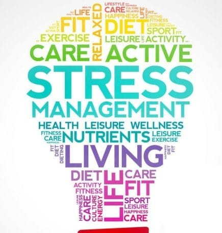 stress management light bulb