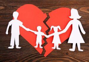 marriage break down with children